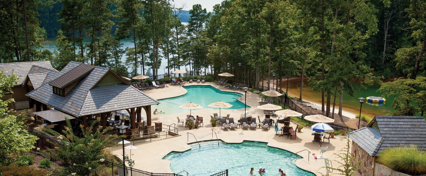 The Cliffs Keowee Swimming Pool Area