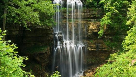 waterfalls in Eastern Tennessee