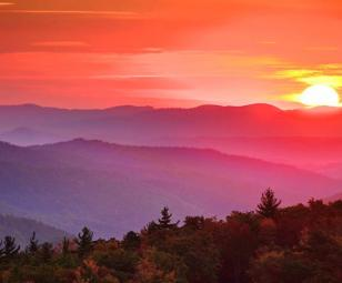 Blue Ridge Mountain Club NC Sunset Views