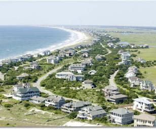 Figure Eight Island NC Aerial