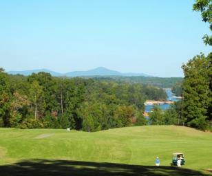 Chestatee golf course on Lake Lanier