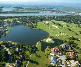 aerial view of Landfall Country Club