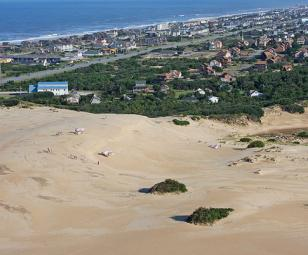 Nags Head Dunes Outer Banks North Carolina