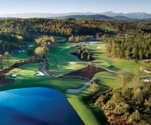 The Cliffs Keowee Falls Golf Course Views