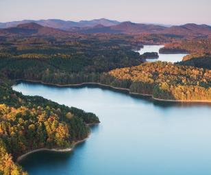 The Cliffs Keowee Springs Lakefront Homes
