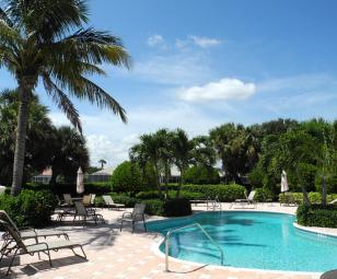 The Island Club Community Swimming Pool Vero Beach