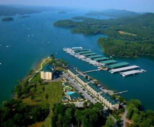 Waterside Marina Norris Lake Aerial