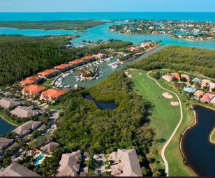 Windstar Naples Bay FL Aerial View