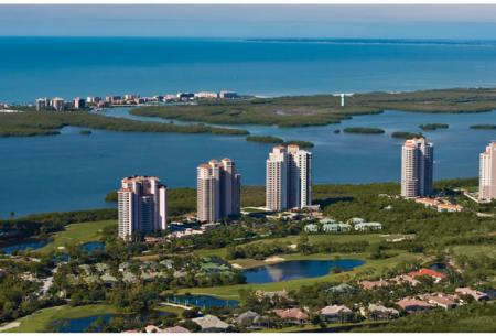 Bonita Bay Florida Aerial View