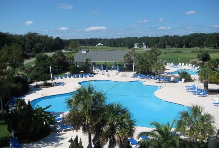 Cat Island swimming pool in Beaufort