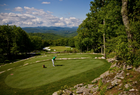 North Carolina mountain golf courses