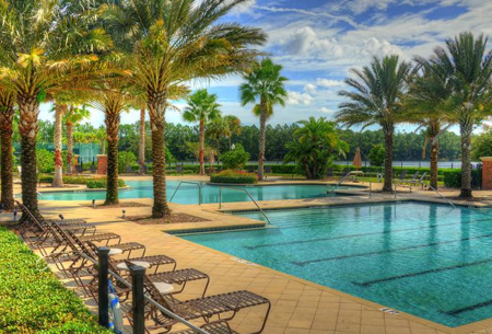 Palm Coast golf communities - swimming pool