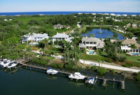 Palm Island Plantation Vero Beach Waterfront Homes