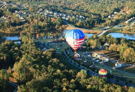 Sterling On The Lake Aerial View Georgia Community