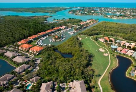 Windstar Naples Bay aerial view
