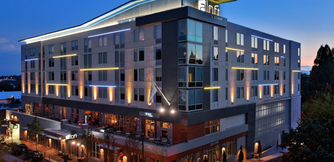 Aloft Best Hotel Asheville