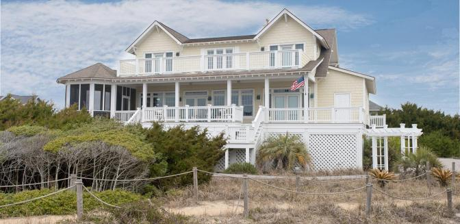 Bald Head Island Beach Homes