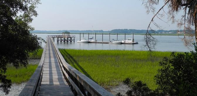Beaufort County Real Estate Callawassie Island Boat Dock