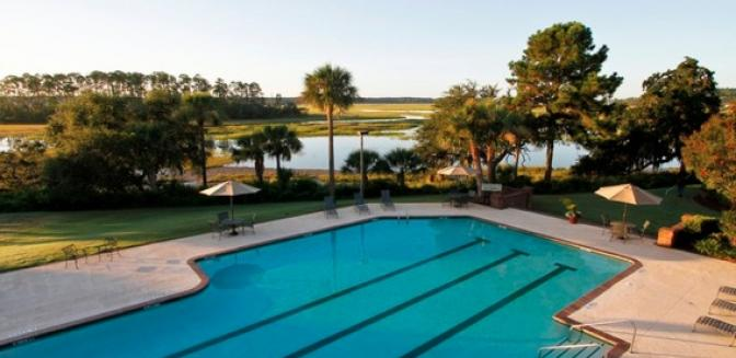 Beaufort County Real Estate Callawassie Island Swimming Pool