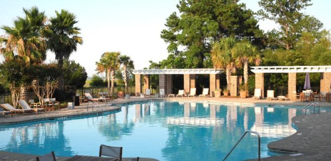 Beaufort County Real Estate Coosaw Point Swimming Pool