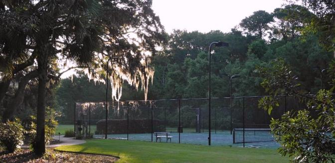 Beaufort County Real Estate Coosaw Point Tennis Courts