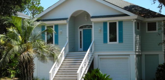 Beaufort County Real Estate Fripp Island Beach Cottage