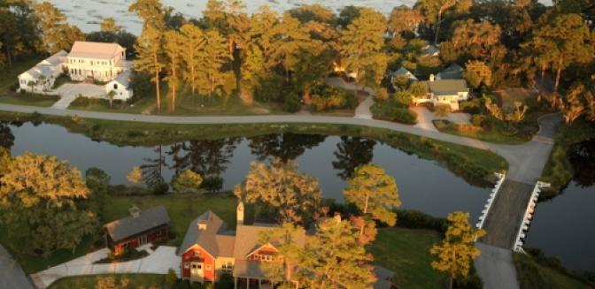 Beaufort County Real Estate Oldfield Aerial View