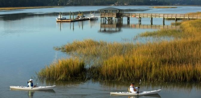 Beaufort County Real Estate Oldfield Kayaking