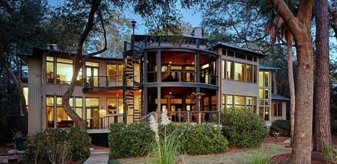 Beaufort County Real Estate Spring Island Home