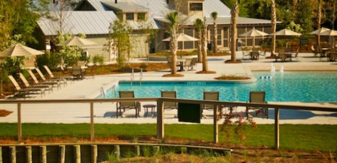 Beaufort County Real Estate Spring Island Swimming Pool