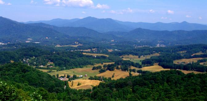 Best Mountain Towns Waynesville NC