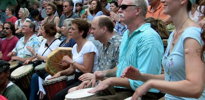 Best Of Asheville Friday Drum Circle