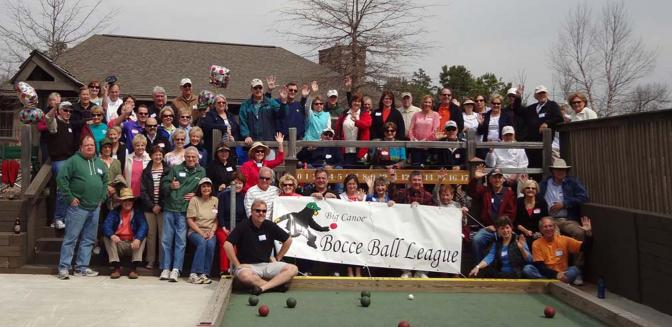 Big Canoe Bocce Ball