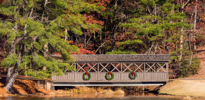 Big Canoe Jasper GA Covered Bridge