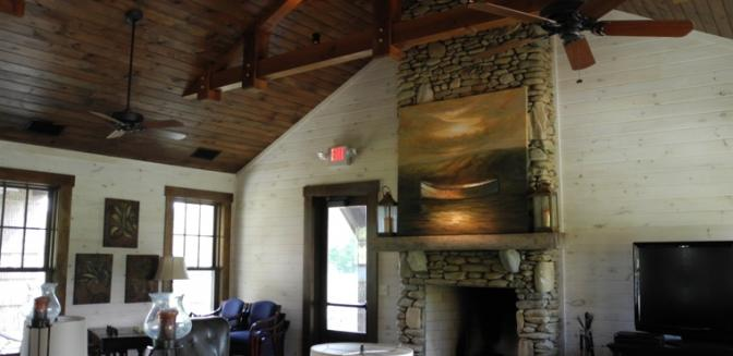 Blowing Rock SweetGrass Clubhouse Interior