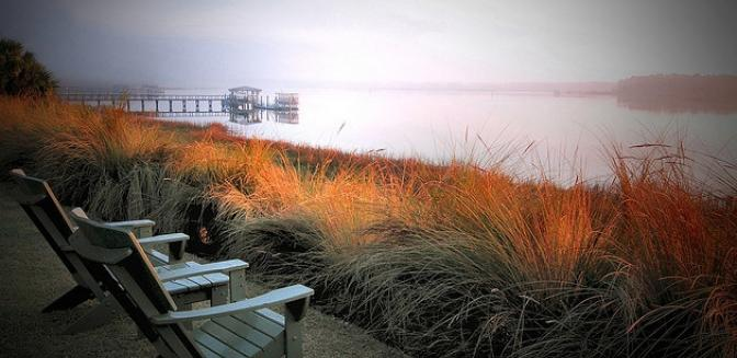 Waterfront homes in Bluffton