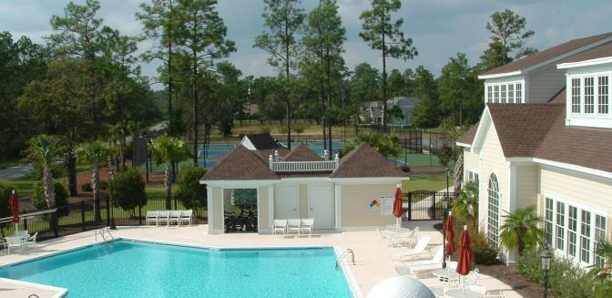 Brunswick County NC Real Estate Rivers Edge Swimming Pool