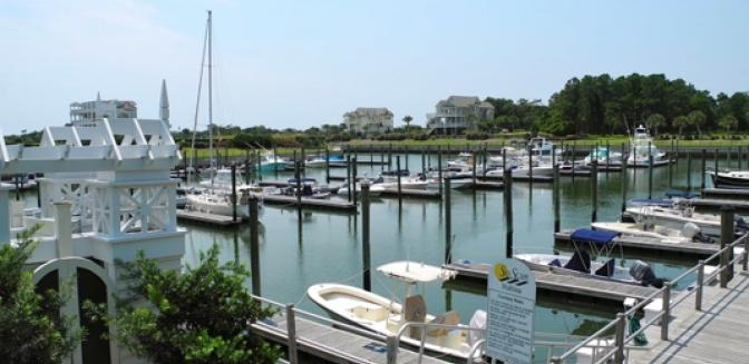 Brunswick County Real Estate SeaScape At Holden Boat Slips