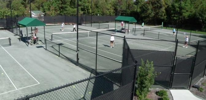 Brunswick County Real Estate St James Plantation Tennis Club