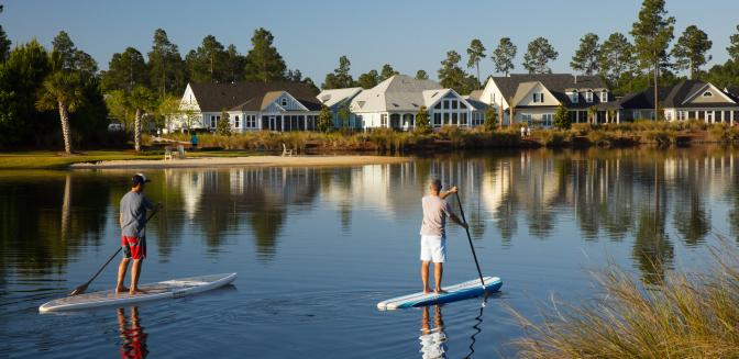 Brunswick Forest NC SUP Paddleboarding
