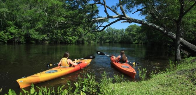 Brunswick Forest NC Kayaking