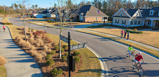 Brunswick Forest NC Walkable Communities