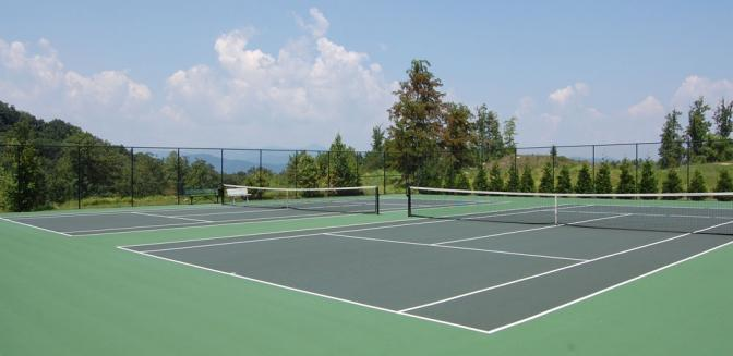 Carriage Park Hendersonville NC Tennis Courts