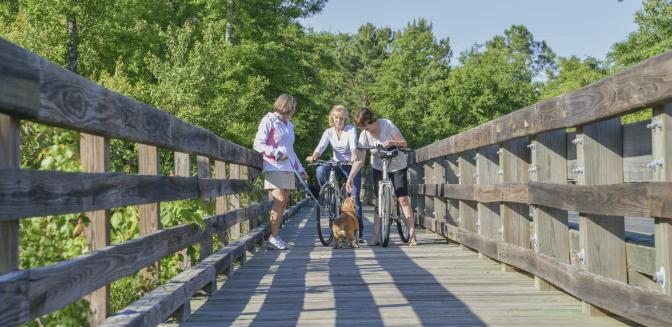 Compass Point NC Biking Trails