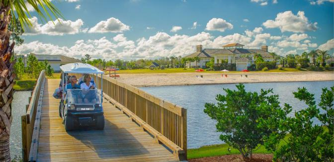 golf cart friendly communities