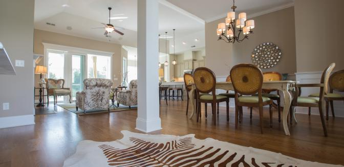 Compass Pointe NC Model Homes