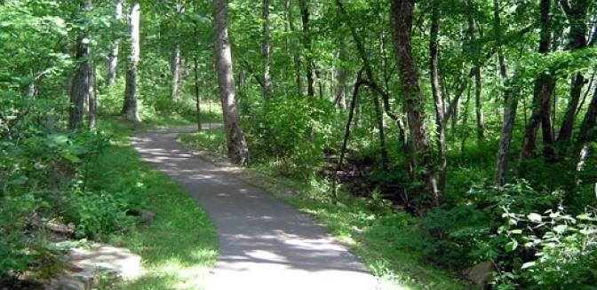 hiking trails at Fairfield Glade