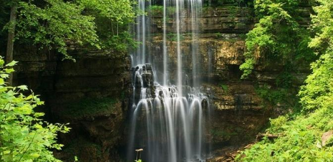 Cookeville TN Real Estate Waterfalls