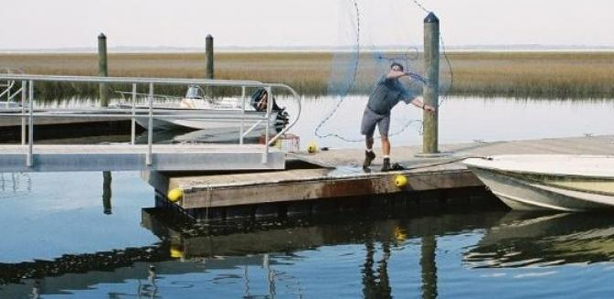 Coosaw Point SC Community Dock