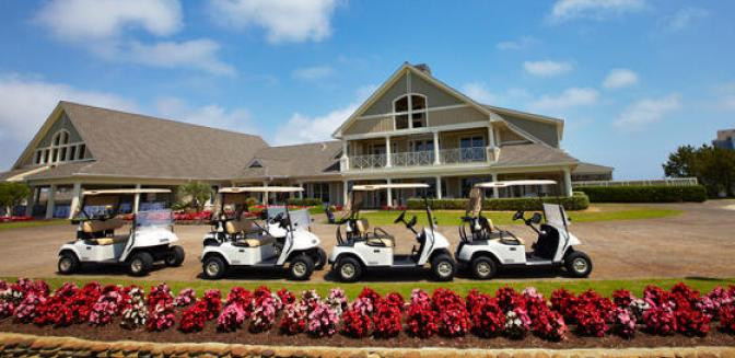Currituck Club Golf Clubhouse Gated Outer Banks Community